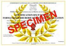 certification d'état RNCP